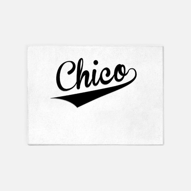 Chico, Retro, 5'x7'Area Rug