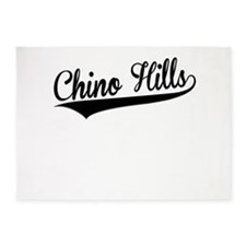 Chino Hills, Retro, 5'x7'Area Rug