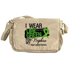 Nephew Lymphoma Ribbon Messenger Bag