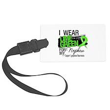 Nephew Lymphoma Ribbon Luggage Tag
