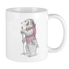 A Well-dressed Badger Mug