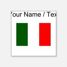 Custom Italy Flag Sticker