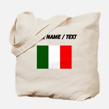 Custom Italy Flag Tote Bag