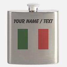 Custom Italy Flag Flask