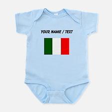 Custom Italy Flag Body Suit