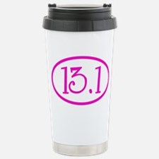 13.1 Half Marathon Pink Stainless Steel Travel Mug
