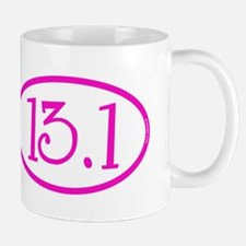 13.1 Half Marathon Pink Girly Mug