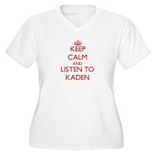 Keep Calm and Listen to Kaden Plus Size T-Shirt