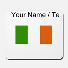 Custom Ireland Flag Mousepad