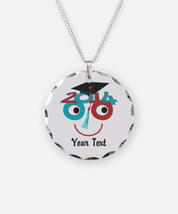 Customize Funny Grad Dude Necklace