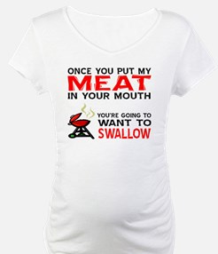 Meat in your mouth  Shirt