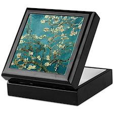 Van Gogh Almond Branches In Bloom  Keepsake Box