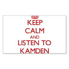 Keep Calm and Listen to Kamden Decal
