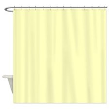 VERY PALE YELLOW Shower Curtain