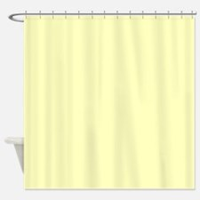 Pale Yellow Shower Curtains | Pale Yellow Fabric Shower Curtain Liner