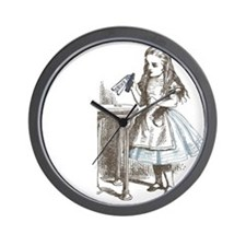 Alice in Wonderland drink me Wall Clock