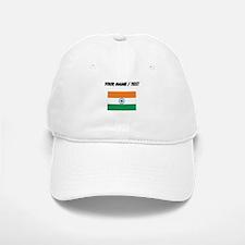 Custom India Flag Baseball Baseball Baseball Cap