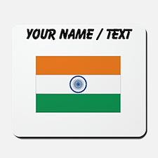 Custom India Flag Mousepad