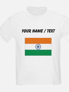Custom India Flag T-Shirt