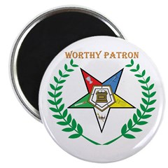 OES Worthy Patron Magnet