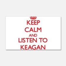 Keep Calm and Listen to Keagan Wall Decal