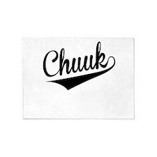 Chuuk, Retro, 5'x7'Area Rug