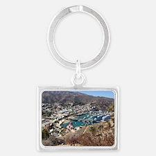 Catalina Island Avalon Landscape Keychain
