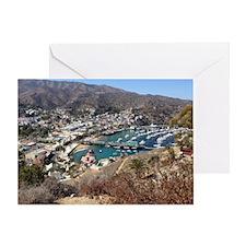 Catalina Island Avalon Greeting Card