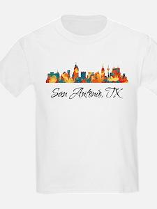 San Antonio Texas Skyline T-Shirt
