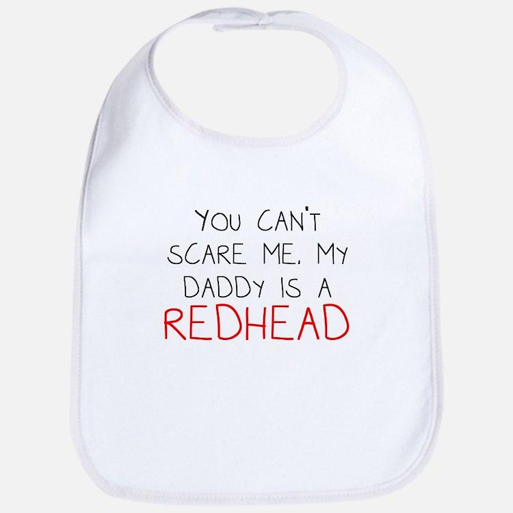 My Daddy Is A Redhead Bib