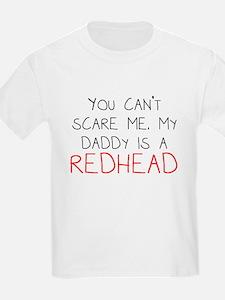 My Daddy Is A Redhead T-Shirt