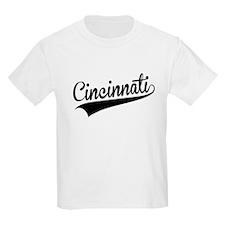 Cincinnati, Retro, T-Shirt