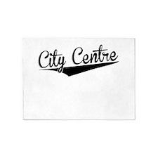 City Centre, Retro, 5'x7'Area Rug
