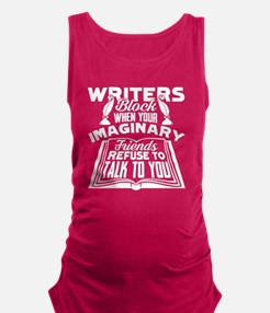 Cute For writers Maternity Tank Top