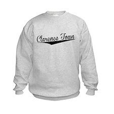 Clarence Town, Retro, Sweatshirt