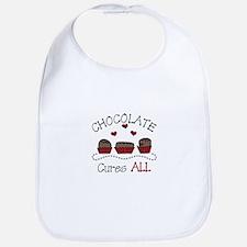 Chocolate Cures All Bib