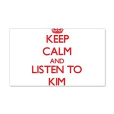 Keep Calm and Listen to Kim Wall Decal