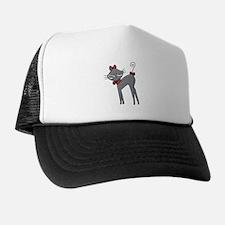Ribbon Kitty Trucker Hat