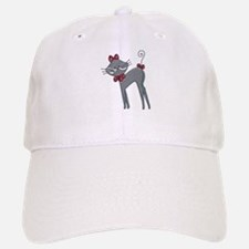 Ribbon Kitty Baseball Baseball Cap
