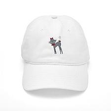 Ribbon Kitty Baseball Cap