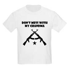 Dont Mess With My Grandma T-Shirt