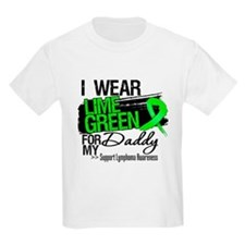 Daddy Lymphoma Ribbon T-Shirt