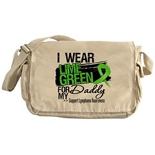 Daddy Lymphoma Ribbon Messenger Bag