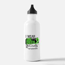 Daddy Lymphoma Ribbon Water Bottle