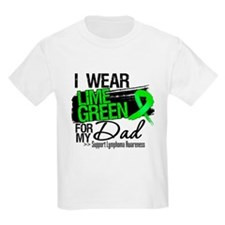 Dad Lymphoma Ribbon T-Shirt