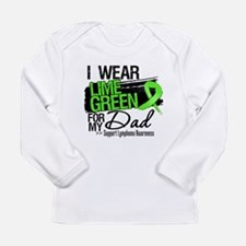 Dad Lymphoma Ribbon Long Sleeve Infant T-Shirt