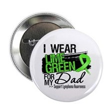 "Dad Lymphoma Ribbon 2.25"" Button (10 pack)"