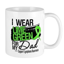 Dad Lymphoma Ribbon Mug