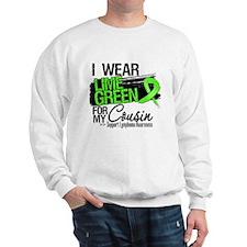 Cousin Lymphoma Ribbon Sweatshirt