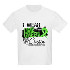 Cousin Lymphoma Ribbon T-Shirt